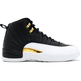 Harga Men's Casual Shoes AIR JORDAN 12 RETRO WINGS 848692 033 Black Men's Basketball Shoe - intl
