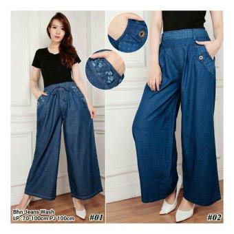 ... Harga 168 Collection Celana Hotpant Winda Sort Pant Biru Terbaru Source SB Collection Celana Kulot Jeans