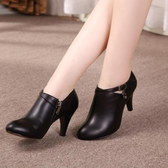 Harga QUEEN: High Heels Black OG01 - Hitam