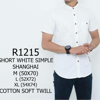 Harga R1215 short white simple
