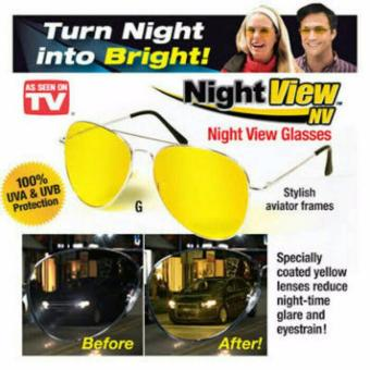 Harga White Sands Night View Glasses Vision / Kacamata Anti Silau di Malam Hari