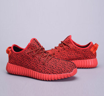 Harga NINGMENG Men'shoes Yeezy Y350 boost casual shoe Sneakers (red) - Intl