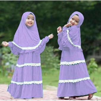 Grateful Syari Anak Hanifa Umur 4 Sampai 6 Tahun Lavender Daftar Source Harga .