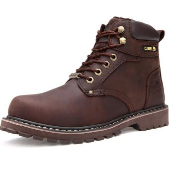 Harga Men fashion boots winter snow boots - intl