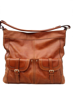 Harga ATHA Hobo Bag Leather - Tan