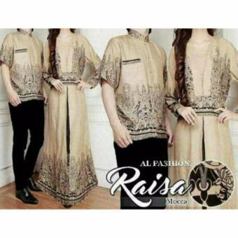 Harga Batik Ez Couple Raisa - Coklat
