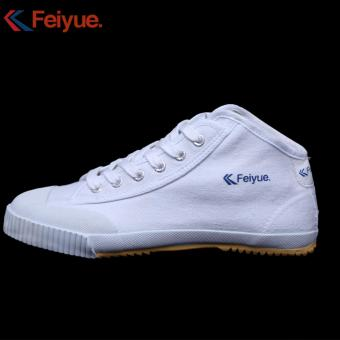 Harga Feiyue Europe Edition Classic Sports Running Shoes DT503A(White) - intl