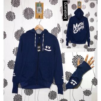 Harga Jacket Hodie - Marttin Garrix - Navy - Fleece