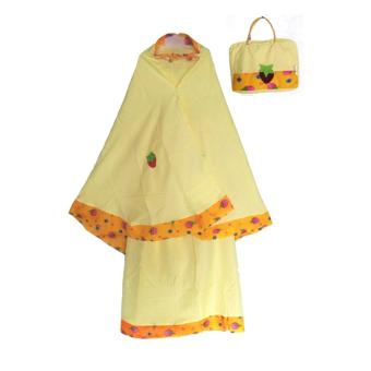 Harga Rasya Set Mukena+Tas anak strawberry -Yellow