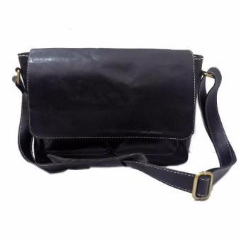 360dsc Fashion Wanita Payet Bling Dompet Bentuk Amplop Baru Tas Source · LIN S Craft Tas Kulit Selempang Posmen Polos Warna Hitam