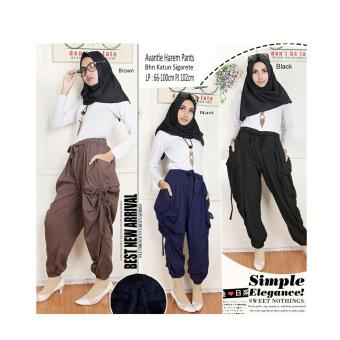 Harga SB Collection Celana Avantie Harem Pant-Navy