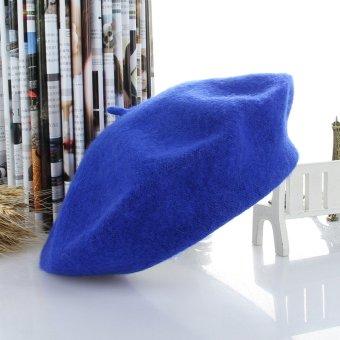 GEMVIE Fashion Men Women Unisex Autumn Winter Soft Warm Beret Hat All-match Vintage Cap