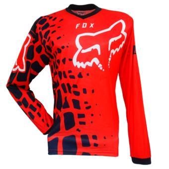 Harga Jersey Baju Sepeda Tangan Panjang J1 Merah Dan Spesifikasinya .