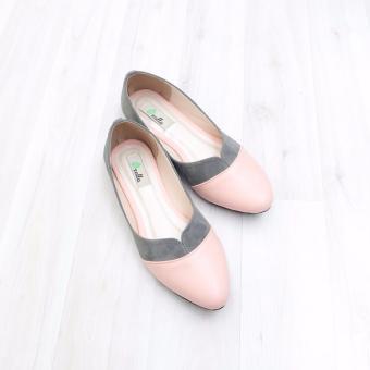 KelinciMadu-Edge Shape Flatshoes-Grey