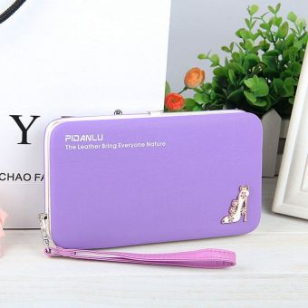 Harga Baellerry Women's Casual Fashion Clutch Wallet Color:Purple