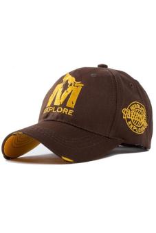 Ormano Topi Baseball Snapback Cap M-Wolf - Coklat