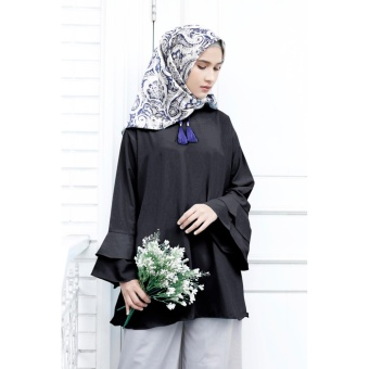 Harga Cotton Bee Apparel Beverly Slevee Blouse - Essential Black