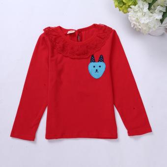 ... Review Dan Harga New Arrived Girls Winter Design Brand Velvet Thickening Childrens Clothing Shirt Kids Girl
