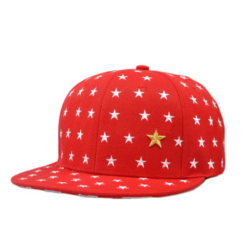 Harga Embroidered Star Cap Red