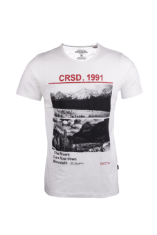 Harga Cressida The River Tee - Putih