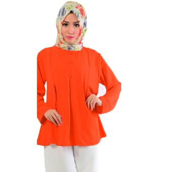 Harga Ace Fashion Blouse Long Sleeve Aila 4171 (Orange)
