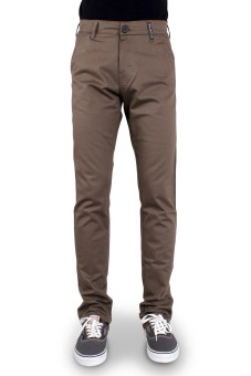 OliveInch Long Chino - Mocca