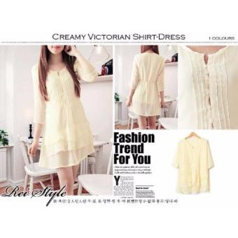 Harga Kyoko Fashion Dress Avalon - REI (Kuning)