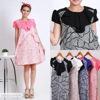 Ashiqeen Mini Dress Black White Search Cheapest Prices Source · Zaafarana Zebra Layer Mini Dress Black