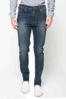 2Nd RED Slim Fit Wisker Blue Grey-133221
