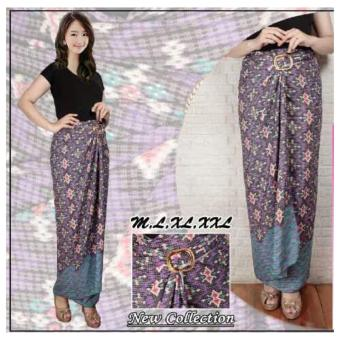 ... Long Skirt Multicolor. Source · SB Collection Rok Lilit Batik Evalia Jumbo-Ungu