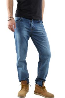 2nd RED 124229 Jeans FS Wisker Spray - Biru