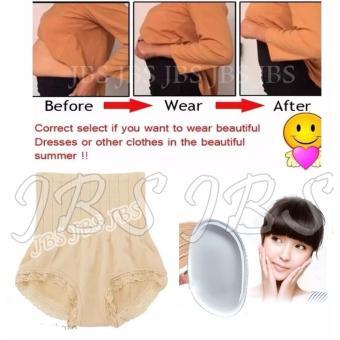 JBS Slim Pant Celana Korset - Munafie Celana Pelangsing Tubuh (All Size ) - Cream