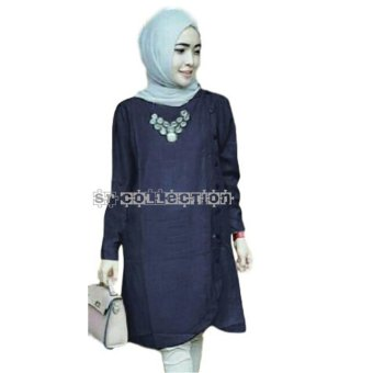 Harga SR Collection Gast Tunic - Navy