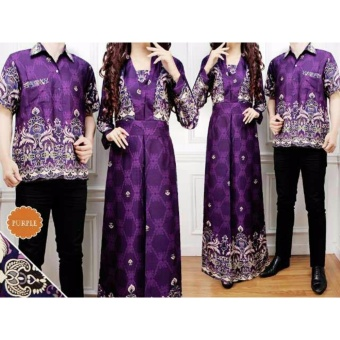 Harga AK - Beverly Couple - Purple Akiko fashion