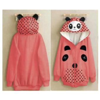 Harga Cheap Sweater Panda Peach