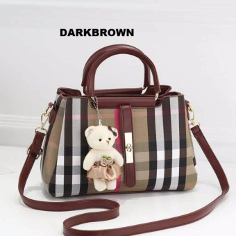 Harga TAS FASHION EXOXY - 1811 DARKBROWN
