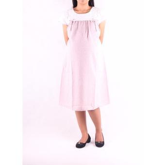Merah Menyusui Update Source · HMILL Baju Hamil Dress Hamil Menyusui 1233 Pink .