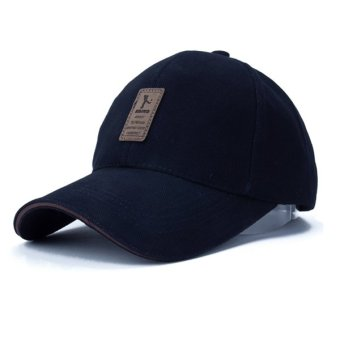 Adapula Fashion olahraga baseball cap Topi Golf Snapback sederhana untuk orang luar ruangan padat tulang (