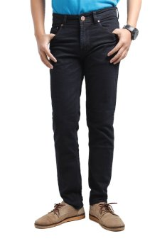 Harga 2ndRED 136305 Jeans Slim Fit Straight - Hitam