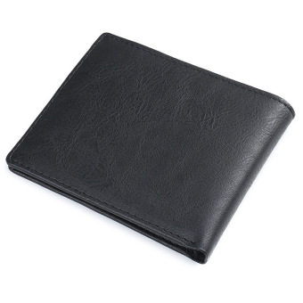 Harga Business Men Short Wallets-black