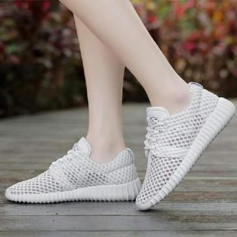 Harga QUEEN: Sneaker White ADS682 - Putih