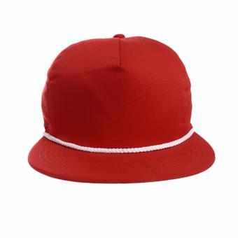 Elfs Shop Topi Snapback Kombinasi Hitam Merah Cabe - Harga Terkini ... ccafe148b4