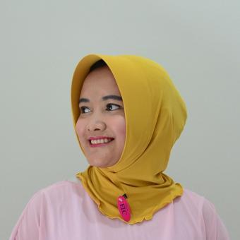 Mysha Hijab Source · Mysha Hijab Ciput Antem Mika APD Gold by ELC
