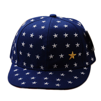 Harga Embroidered Star Cap Blue