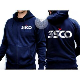 Harga Jaket 3second Warna Navy / Sweater Hoodie/Jaket Zipper Distro 3second