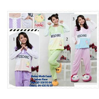 SB Collection Stelan Baju Tidur Mochi Land T-Shirt-Pink