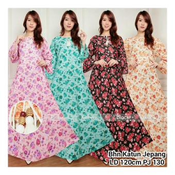 Harga SB Collection Maxi Dress Beverly Gamis Jumbo Kaftan-Tosca