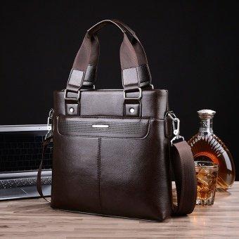 Men's Bags Handbag Shoulder Bag Business Casual Crossbody Bag Male Vertical Briefcase Tote Bag Messenger Bag