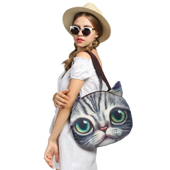 Harga Toprank New Fashion Stylish Lady Women Animal Head Bag Shoulder Bag Packet ( Brown ) - intl
