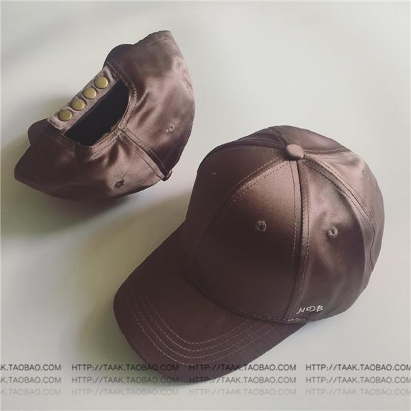 Ins Korea Fashion Style perempuan musim panas wajah tersenyum topi baseball topi (Sisi NB PARK'S